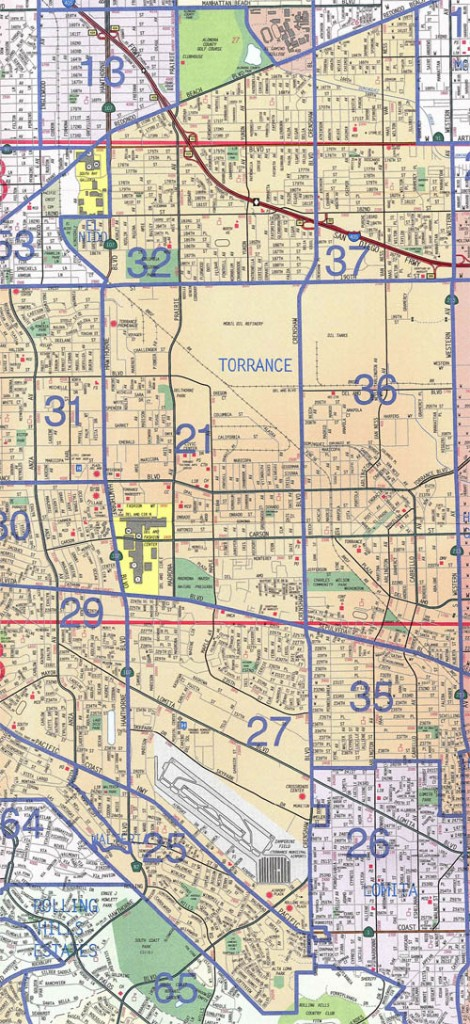 Torrance Real Estate Map