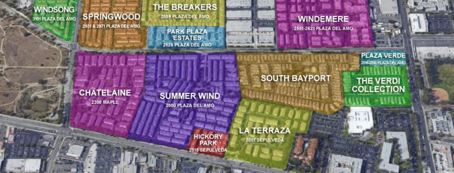 The Gated Communities of Plaza Del Amo Torrance